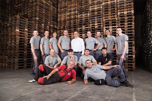 Unser Team - Brekner Paletten